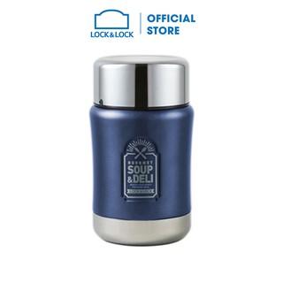 Hộp cơm giữ nhiệt thương hiệu Lock&Lock 500ml màu xanh LHC8029NVY thumbnail