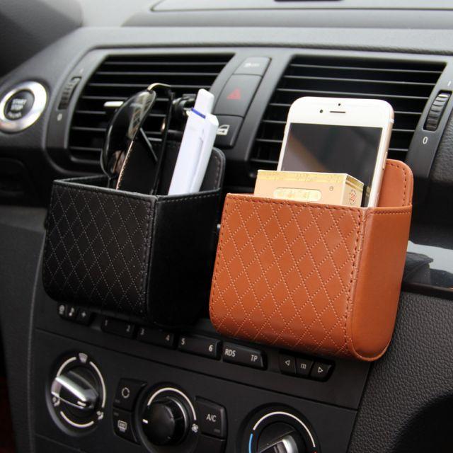 กระเป๋าใส่โทรศัพท์ในรถ/ใส่บัตร/ใส่สิ่งของต่างๆๆแบบแขวน(9x8.5x4.5)cm