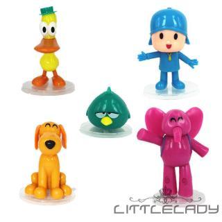 ☛☏❤5pcs/set Cartoon Pocoyo Zinkia Toys Action Figures Kids Unisex Xmas Gift Toys