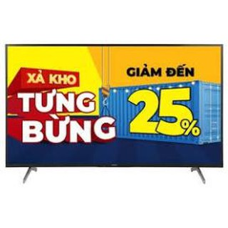 Android Tivi Sony 4K 55 inch KD-55X8000H Mới 2020
