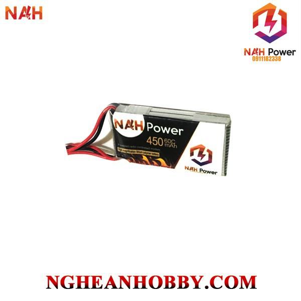 Pin Lipo NAH Power 2S 7.4V 450mAh 60C