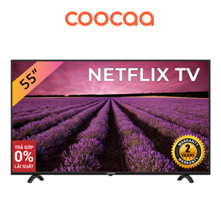 SMART Tivi Netflix 4K UHD Coocaa 55 inch Wifi - Model 55S3N (Model 2020)