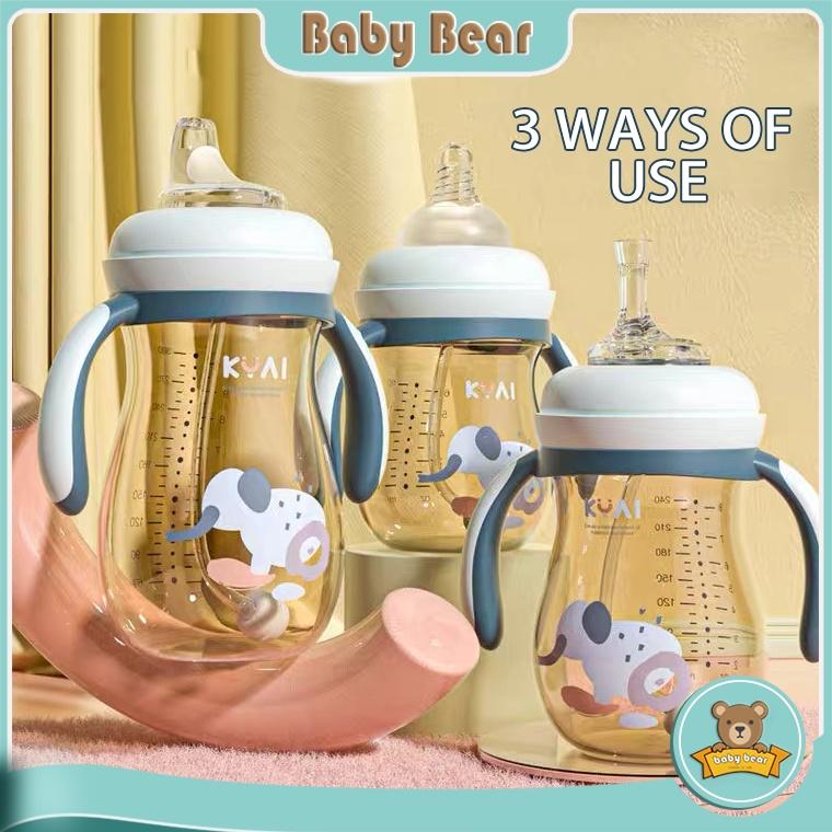 Bình sữa chống đổ dung tích lớn 300ml cho bé