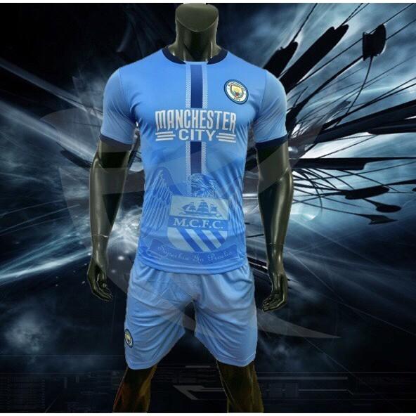 Bộ quần áo CLB Manchester City 2019 2020 hàng Dệ