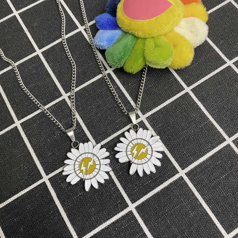 Dây chuyền mặt hình hoa cúc phong cách Hàn Quốc