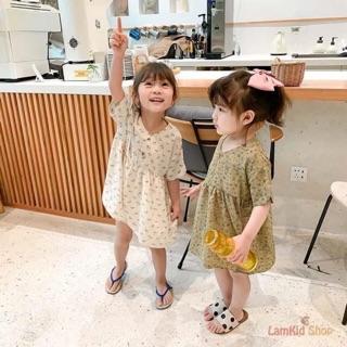 Bán sỉ váy hoa 3 màu dành cho bé