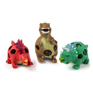 3Pcs/Pack Decompression Toys Dinosaur Pressure Releasing Ball Squeezing Ball