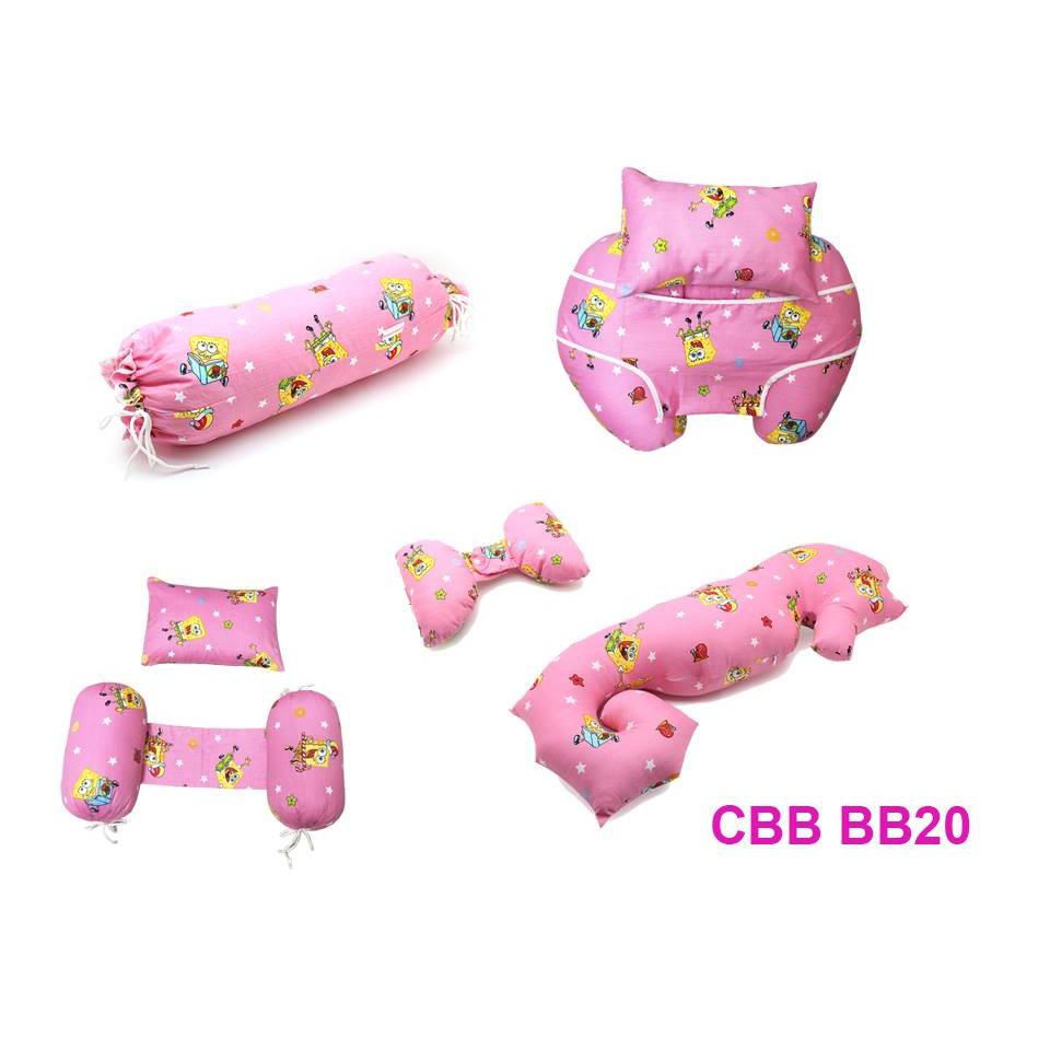 Combo 5 sp: gối chống trào ngược + gối chặn cho bé + gối tai voi + gối ôm + gối cá ngựa berry CB BB20 (Bọt biển Hồng) - 23067127 , 828518724 , 322_828518724 , 720000 , Combo-5-sp-goi-chong-trao-nguoc-goi-chan-cho-be-goi-tai-voi-goi-om-goi-ca-ngua-berry-CB-BB20-Bot-bien-Hong-322_828518724 , shopee.vn , Combo 5 sp: gối chống trào ngược + gối chặn cho bé + gối tai voi +