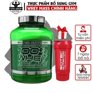 [ Giá CTV + Quà Tặng ] 100% Whey Isolate Scitec 2000g 80 Serving Whey Protein Hấp Thu Nhanh Tinh Khiét 0 Carb Fat thumbnail