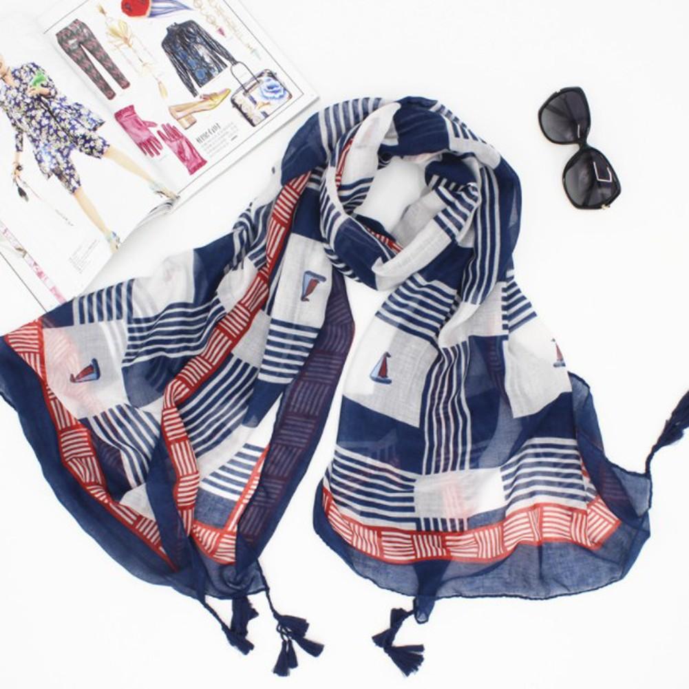 SFGHOUSE Women Bohemian Silk Scarf Shoulder Wrap Shawl
