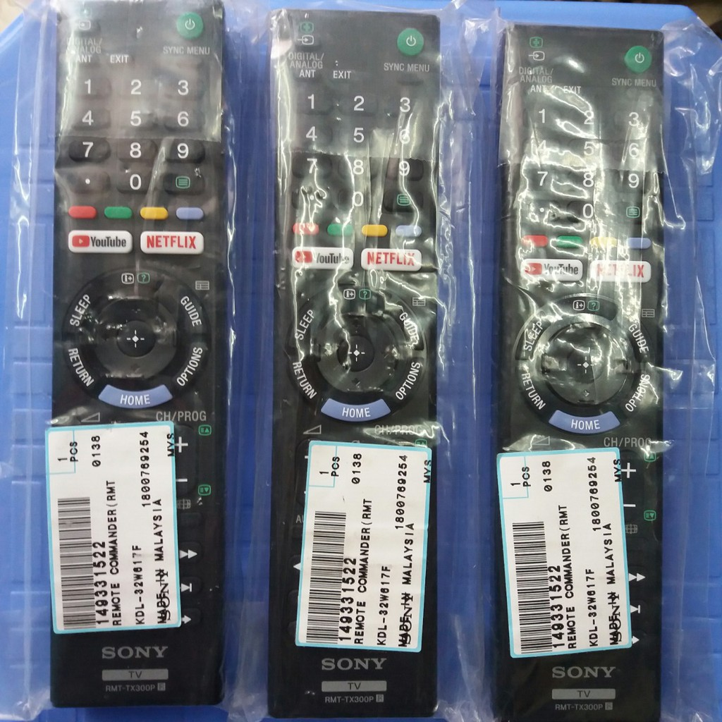 Điều khiển Tivi Sony RMT-TX300P mới 100% - CHÍNH