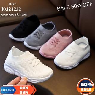 Giày bé gái FREESHIP giày cổ chun cho bé trai bé gái từ 2 tuổi tới 7 tuổi nhập trực tiếp quảng châu thumbnail
