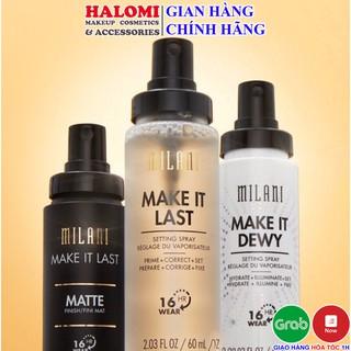 Xịt khóa nền MILANI giữ lớp trang điểm Make It Last Dewy Matte SPF30 Setting Spray (60ml) thumbnail