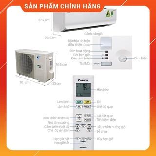 [ FREESHIP KHU VỰC HÀ NỘI ] Điều hòa Daikin 18000BTU 1 chiều Inverter R32 Cao cấp FTKC50UVMV/RKC50TVMV