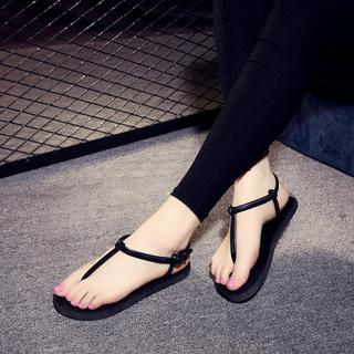 Giày sandal dây đế  thấp
