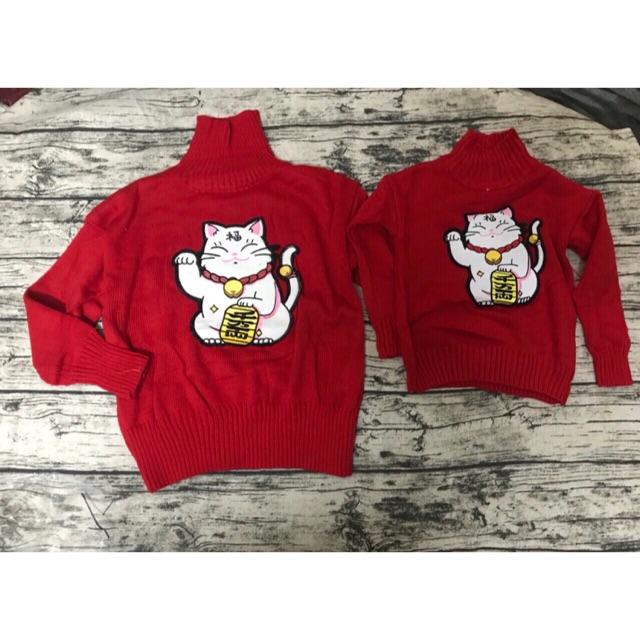Áo len mèo thần tài( sét áo len mèo thần tài mẹ và bé) - 3408770 , 864209422 , 322_864209422 , 269000 , Ao-len-meo-than-tai-set-ao-len-meo-than-tai-me-va-be-322_864209422 , shopee.vn , Áo len mèo thần tài( sét áo len mèo thần tài mẹ và bé)