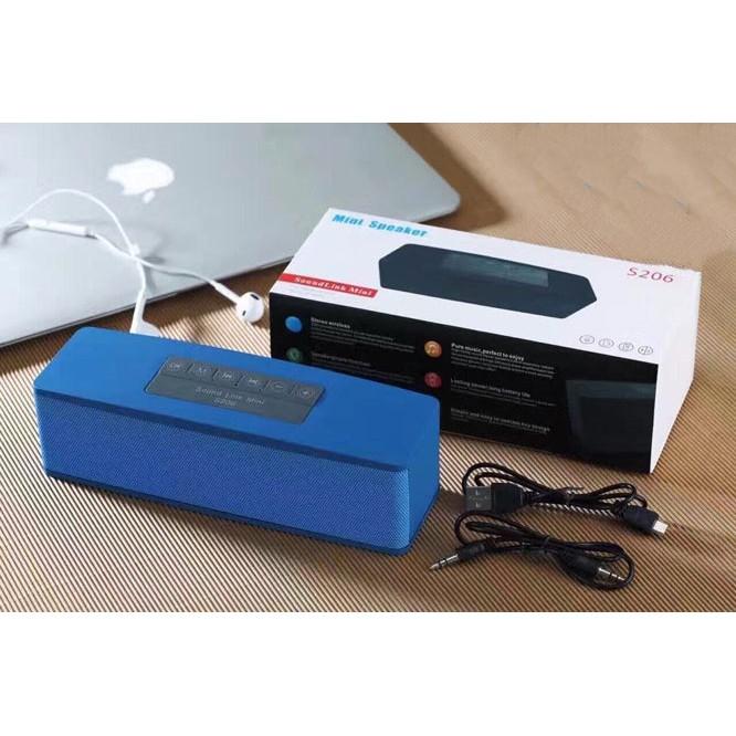 [SALE KHỦNG] Loa Bluetooth S206 ?Âm thanh cực hay và chất - 3561201 , 1176847754 , 322_1176847754 , 300000 , SALE-KHUNG-Loa-Bluetooth-S206-Am-thanh-cuc-hay-va-chat-322_1176847754 , shopee.vn , [SALE KHỦNG] Loa Bluetooth S206 ?Âm thanh cực hay và chất