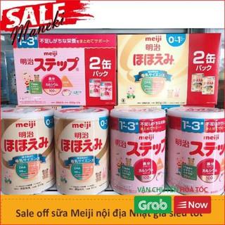 Combo 2 Hộp Sữa Meiji 800g Hàng Nhật Nội Địa Date Mới Nhất thumbnail