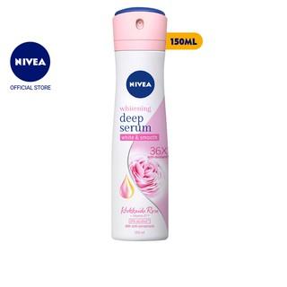"""[Mã COSMALL17 -10% ĐH 250K]Xịt serum ngăn mùi NIVEA trắng mịn hương hoa hồng Hokkaido (150ml) - 85304 giá chỉ còn <strong class=""""price"""">7.900.000.000đ</strong>"""