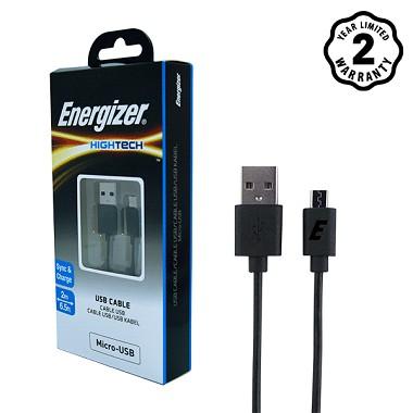 Cáp MicroUSB Energizer 2m (Đen) - Hãng phân phối chính thức - 2515702 , 395406247 , 322_395406247 , 181000 , Cap-MicroUSB-Energizer-2m-Den-Hang-phan-phoi-chinh-thuc-322_395406247 , shopee.vn , Cáp MicroUSB Energizer 2m (Đen) - Hãng phân phối chính thức