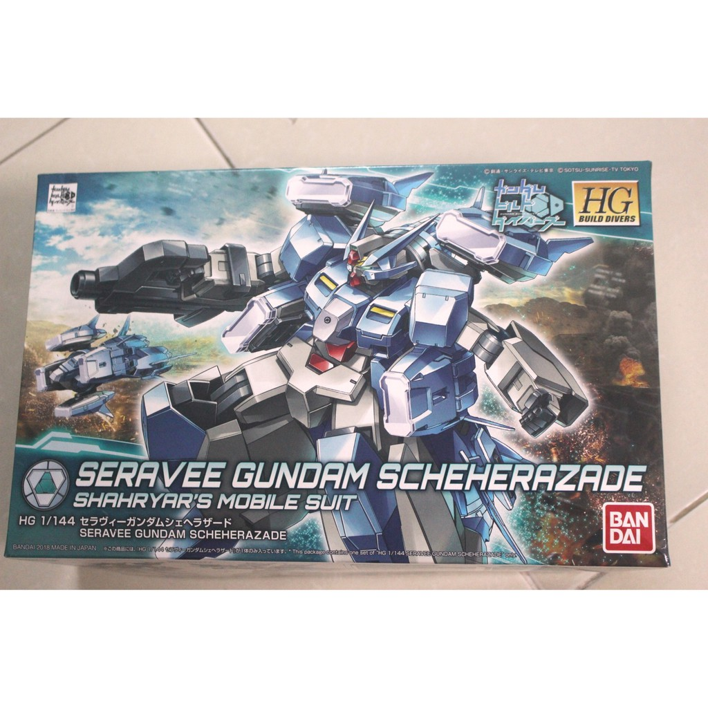 Mô hình lắp ráp HG BD 1/144 Seravee Gundam Scheherazade Bandai