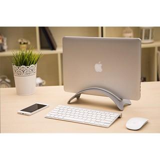 [Mã SKAMA07 giảm 8% đơn 250k]Chân đế cong giữ Macbook laptop bằng hợp kim nhôm cao cấp thumbnail