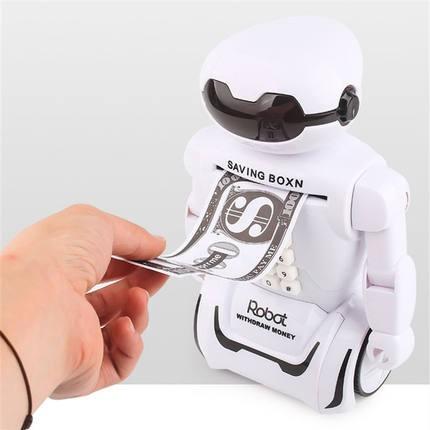 Ống Heo Tiết Kiệm Hình Robot Có Mật Khẩu Đa Năng