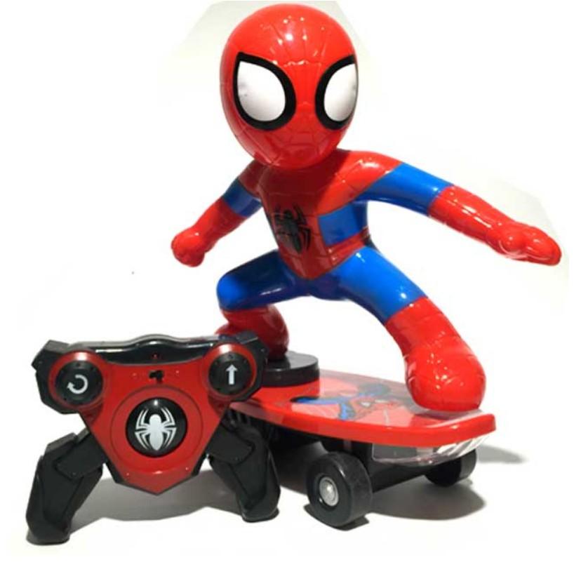 Spider Man – Người Nhện Trượt Patin Điều Khiển