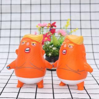Slow Rebound Squishy Cartoon Toy New Trump Pinch Doll PU Children's Educational Toy Baby