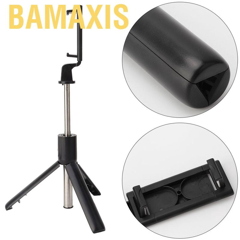 Gậy Selfie Bamaxis 2 Trong 1 Có Điều Khiển Từ Xa Kết Nối Bluetooth Cho Điện Thoại Android Ios