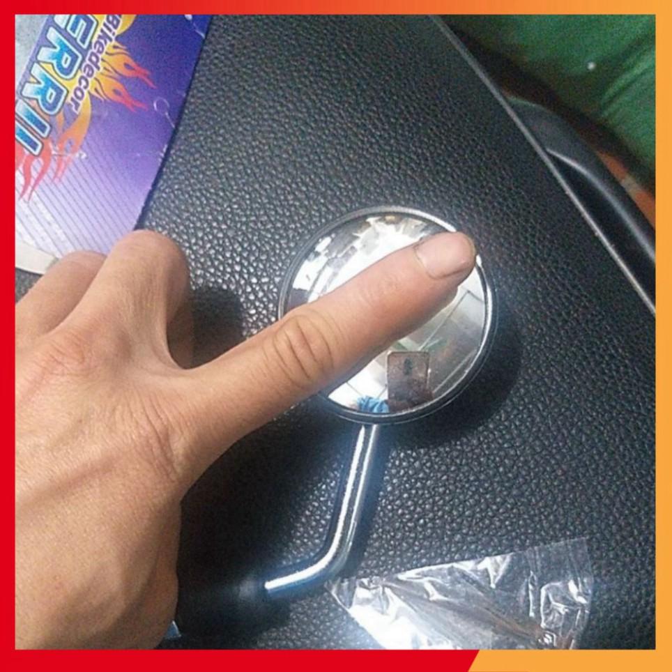 Gương chiếu hậu xe xe máy ( gương cầu mini chân 10mm)