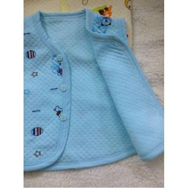 áo gile bông xốp cho bé