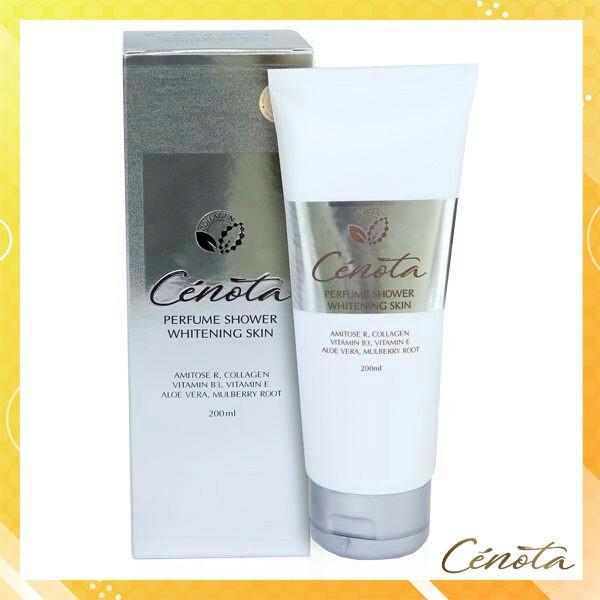 Sữa tắm trắng da hương nước hoa, sữa tắm trắng da Cenota Perfume Shower Whitening Skin 200ml mã CN11 Kagawa