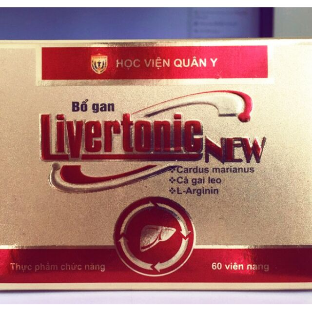 Bổ gan Livertonic New Học viện Quân Y