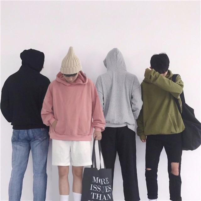 Áo hoodie dài tay cotton siê