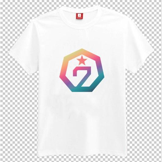 Áo thun nam nữ Kpop logo nhóm nhạc GOT7 - NEVER EVER