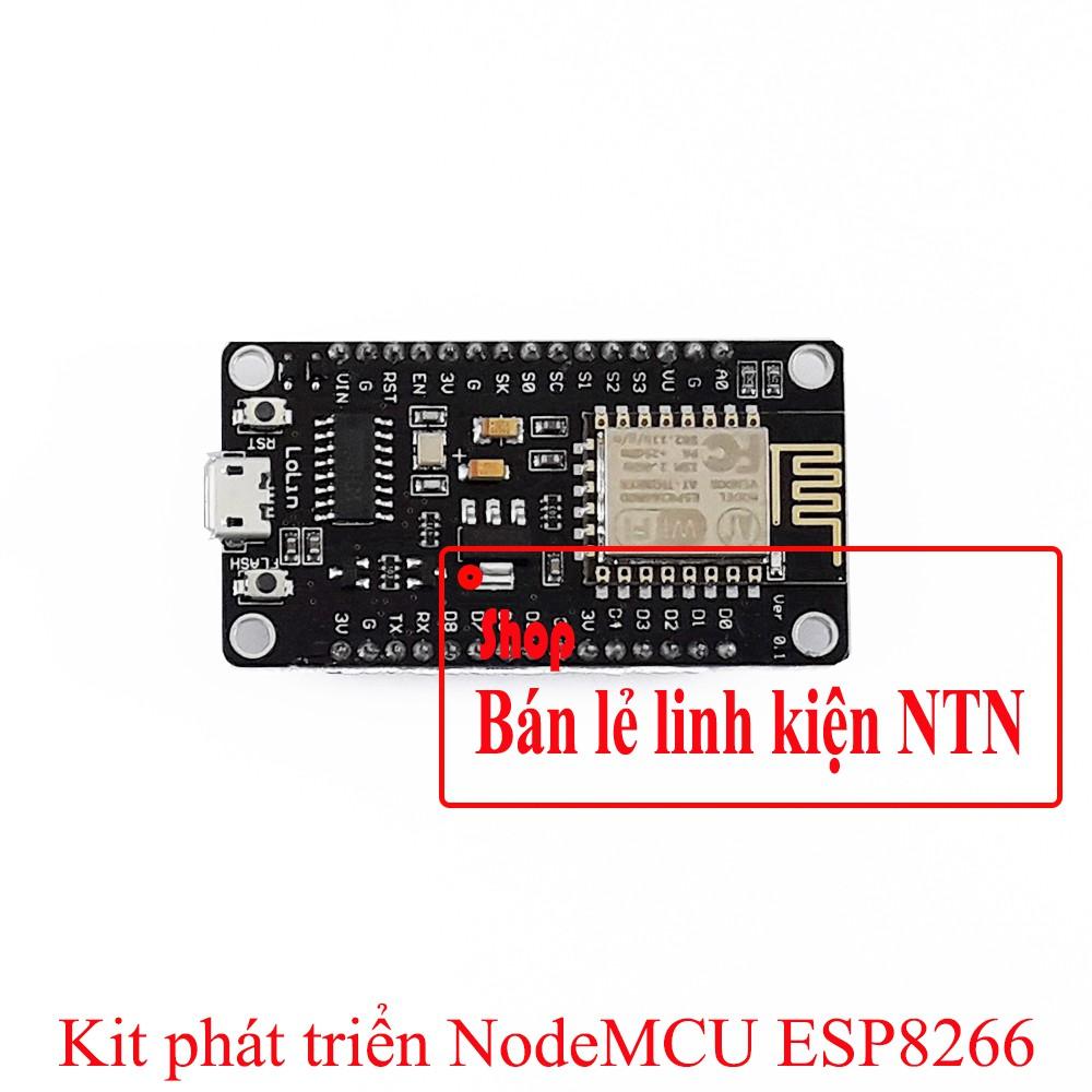 Kit phát triển thu phát Wifi NodeMCU ESP8266 CH340 CP2102 - 3384147 , 581719013 , 322_581719013 , 85000 , Kit-phat-trien-thu-phat-Wifi-NodeMCU-ESP8266-CH340-CP2102-322_581719013 , shopee.vn , Kit phát triển thu phát Wifi NodeMCU ESP8266 CH340 CP2102