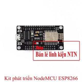Kit phát triển thu phát Wifi NodeMCU ESP8266 CH340 CP2102