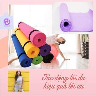 Thảm tập Yoga 6mm TPE