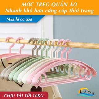 [FLASH SALE 3 NGÀY] Móc quần áo HADU cao cấp bản vai rộng nhanh khô bền đẹp – Hạ Dương Shop