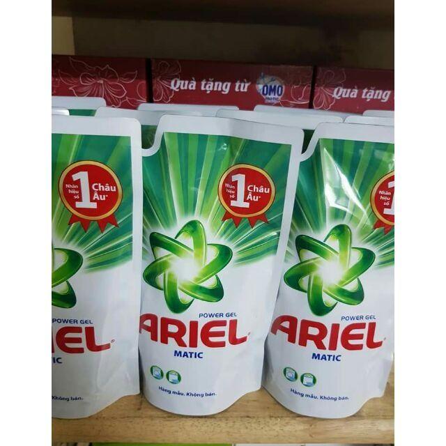 Nước giặt Ariel túi hàng khuyến mại 400ml