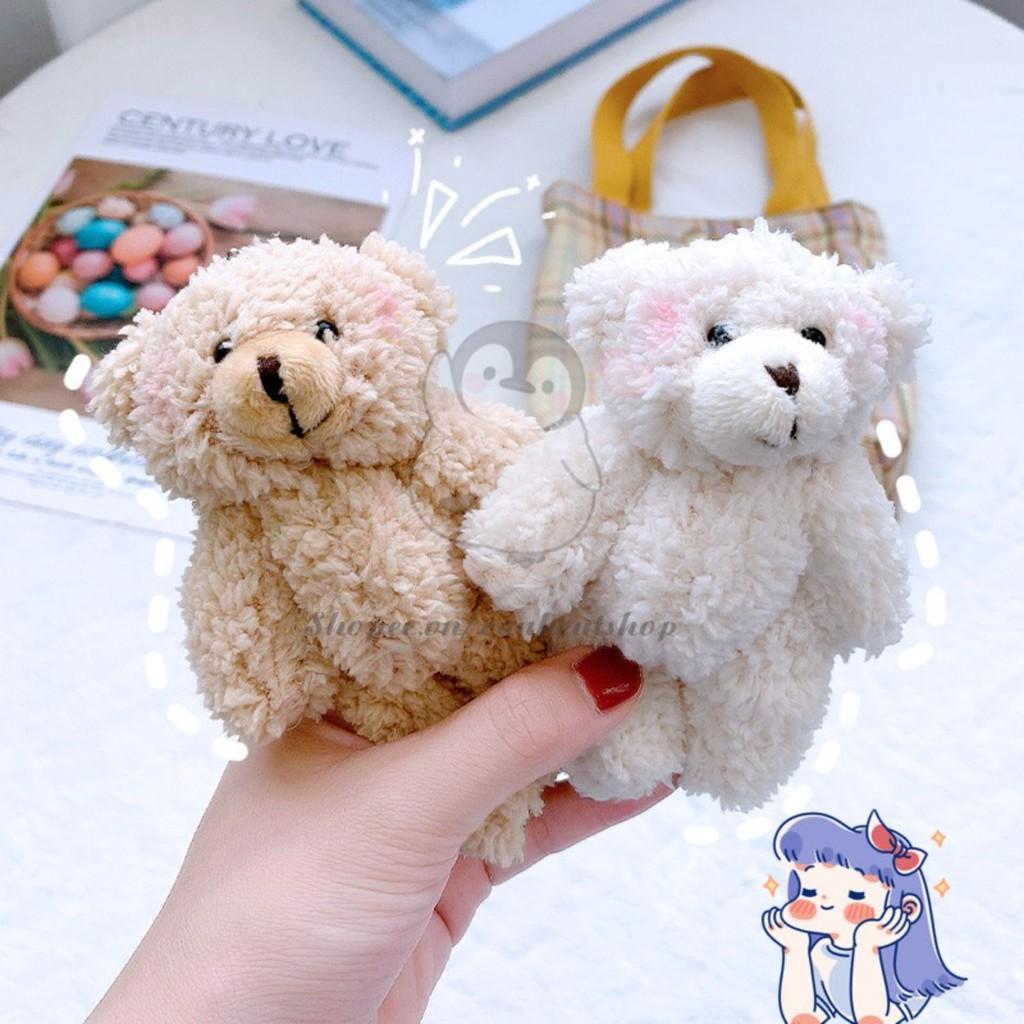 Móc khoá cute 🐧 gấu bông nhỏ nhắn xinh xắn thú nhồi bông xe đa năng đôi bò sữa anime VPP38