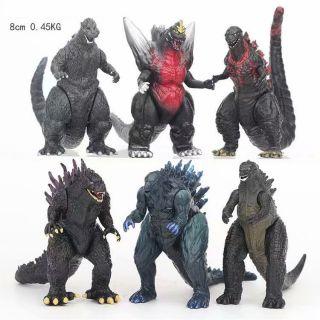 [Hàng có sẵn-Xả hàng tăng doanh số] Set 6 mô hình khủng long Godzilla trong Godzilla Planet Of Monsters