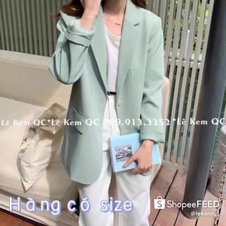 Áo Blazer ❤️ [ FREESHIP ] Áo Khoác Vest Hàng 2 Lớp QC Đủ Màu Có Size SM ( 38-65kg) Ảnh Thật Video Shop Tự Chụp ❤️