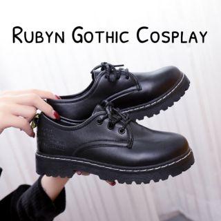🍁 Giày Oxford vintage đơn giản 🍁 ( Size 35-40 )  (Tài khoản Shopee duy nhất: gothic.cosplay )