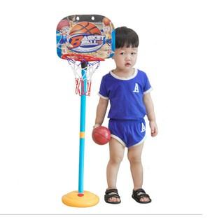 Bộ đồ chơi bóng rổ cho bé Kagonk - Đồ chơi thể thao an toàn nâng cao sức khỏe cho trẻ