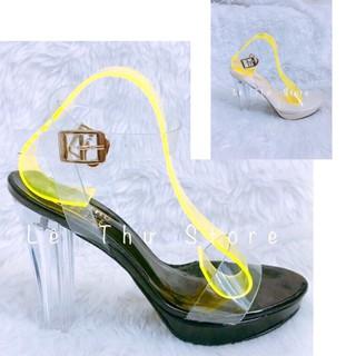 Giày cao gót 11 phân đế đúp quai trong dây quấn LT (FROM BÉ) (DP010)