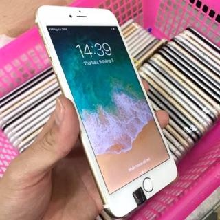 [ELMT28 Giảm tới 1TR] Điện Thoại iPhone 6 Plus Lock 64GB Màu Gold Zin Đẹp Đủ Phụ Kiện Kèm Bảo Hành
