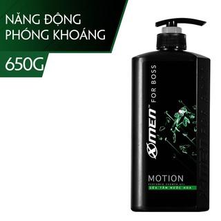 Sữa tắm Nước hoa X-Men For Boss Motion 650g – Mùi hương năng động phóng khoáng