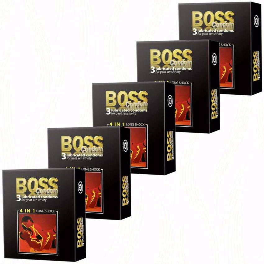 Bao Cao Su Boss 4 In 1 Gân Gai Kéo Dài - Hộp 3 Chiếc Chính Hãng ...